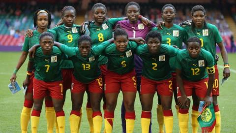 Cameroon's women's Olympic football team