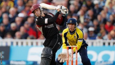 Somerset v Hampshire