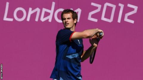 Andy Murray will be going for gold in the tennis for Team GB