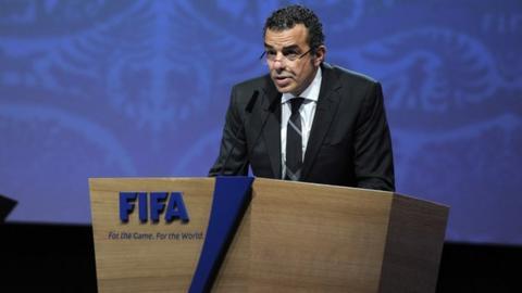 Al Ahly board member Khaled Mortagey