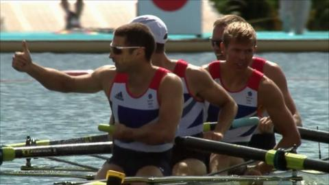 Great Britain's men's lightweight four