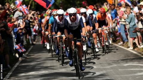 Olympic cycling road race
