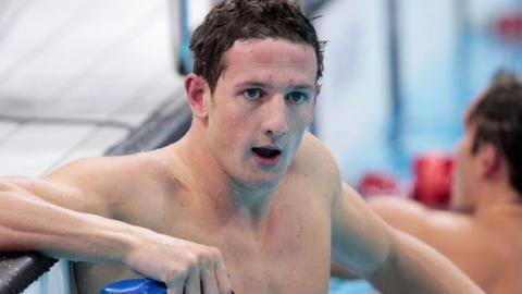 Michael Jamieson has mixed emotions at the end of his semi-final
