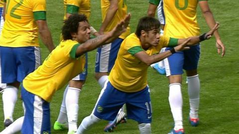 Marcelo & Neymar