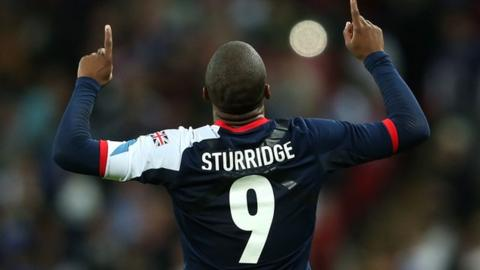 Great Britain's Daniel Sturridge