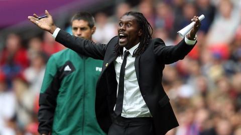 Senegal's Olympic team manager Aliou Cisse