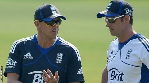 Andy Flower and Andrew Strauss