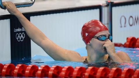 British swimmer Ellen Gandy