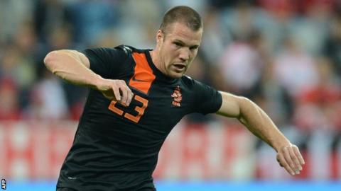 New Aston Villa signing Ron Vlaar