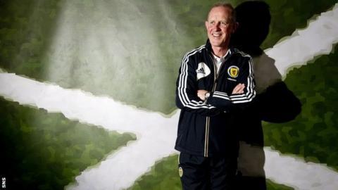 Scotland Under-21 coach Billy Stark