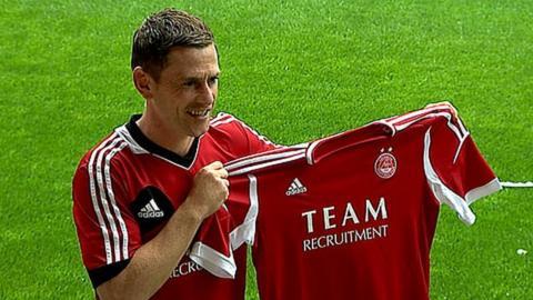 Aberdeen defender Gary Naysmith