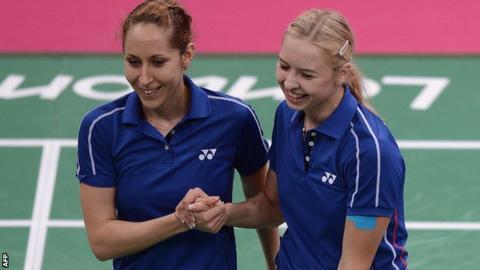 Valeria Sorokina and Nina Vislova