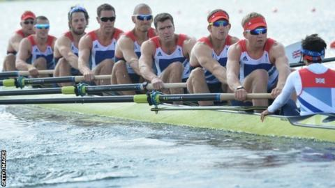 The British men's eight