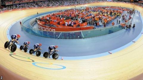 Britain's men's team pursuit
