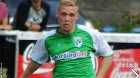 Ben Coulter could make his Guernsey FC debut against Croydon