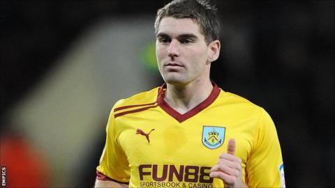 Burnley striker Sam Vokes