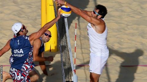 USA beach volleyball