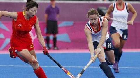 GB women's hockey team lose to China