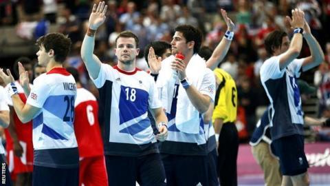 Great Britain's men's handball team