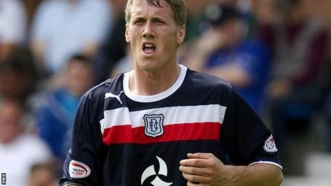Dundee winger Jim McAlister