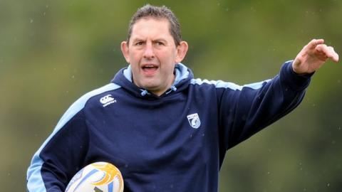 Cardiff Blues director of rugby