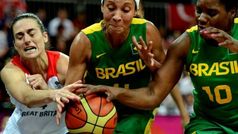 Great Britain V Brazil
