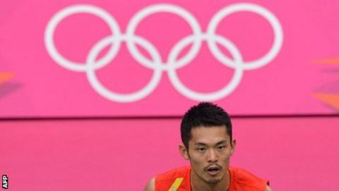 Chinese Olympic gold medallist Lin Dan