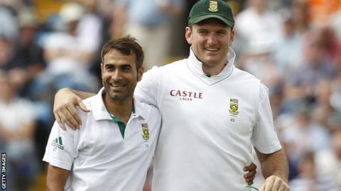 Imran Tahir and Graeme Smith