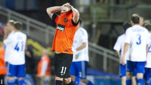 Dundee United drew 2-2 with Dinamo Moscow