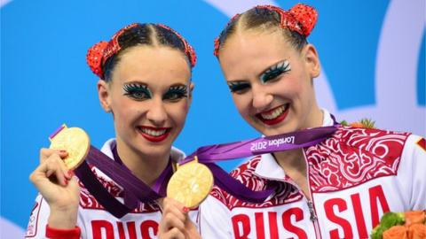 Natalia Ishchenko and Svetlana Romashina