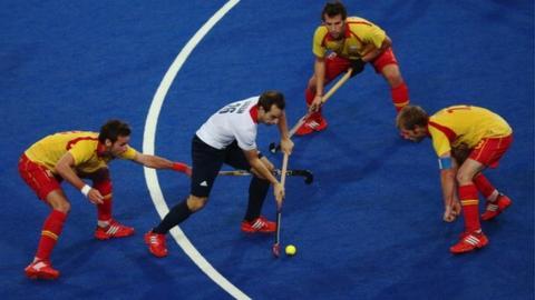 Highlights: Great Britain 1-1 Spain