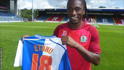 Blackburn Rovers midfielder Dickson Etuhu