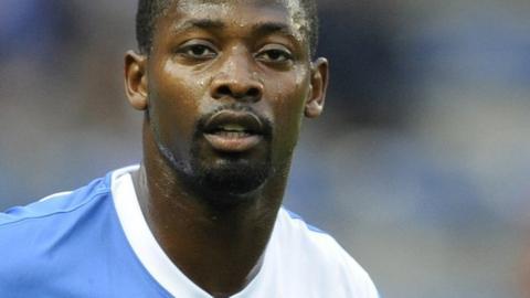 Cameroon forward Eric Matoukou