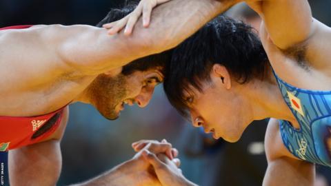 Ashraf Aliyev and Sohsuke Takatani