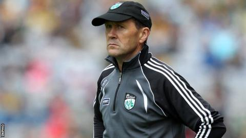 Jack O'Connor watches his team in last weekend's All-Ireland quarter-final defeat by Donegal