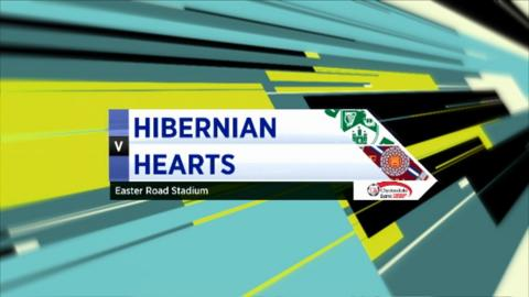 Highlights - Hibernian 1-1 Hearts