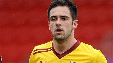 Burnley striker Danny Ings