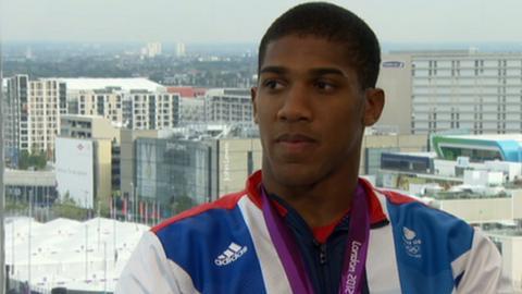 GB boxer Anthony Joshua