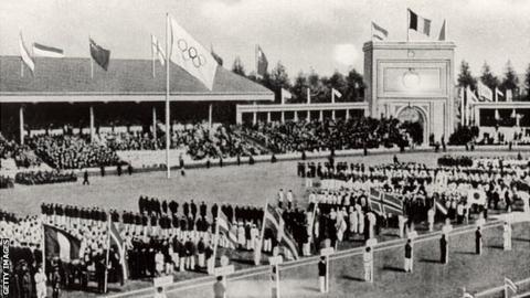 Olympic Games: 1920 Antwerp, Belgium