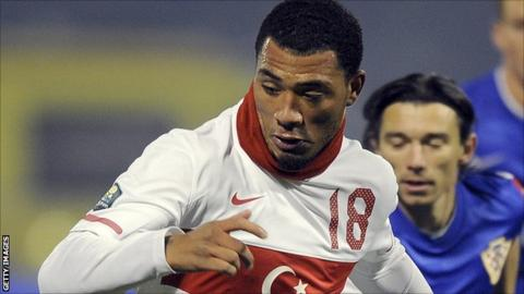 Colin Kazim-Richards in action for Turkey