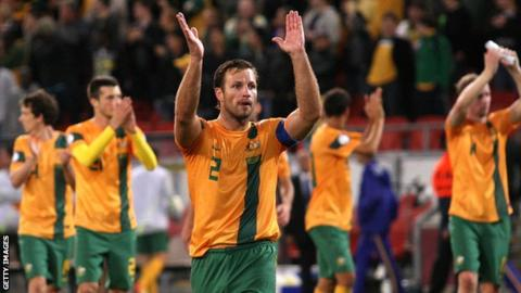 Lucas Neill will captain Australia at Easter Road