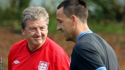 Roy Hodgson and John Terry