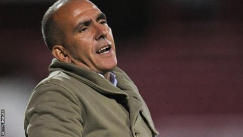 Swindon boss Paolo Di Canio