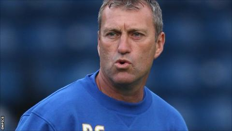 Bury caretaker manager Peter Shirtliff