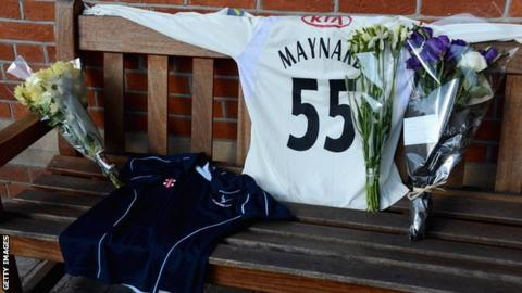 Tom Maynard remembered at the Kia Oval
