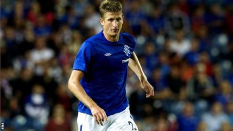 Rangers defender Dorin Goian