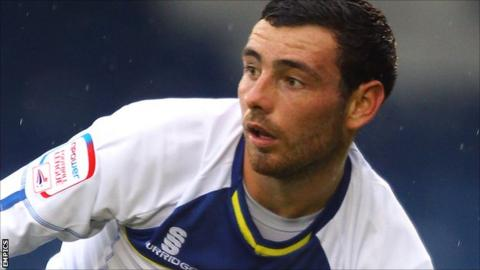 Bury midfielder David Worrall