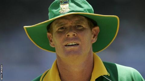 Former South Africa captain Shaun Pollock