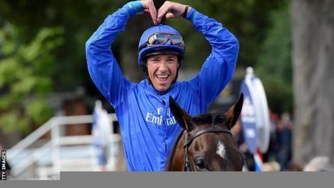 Frankie Dettori and Willing Foe