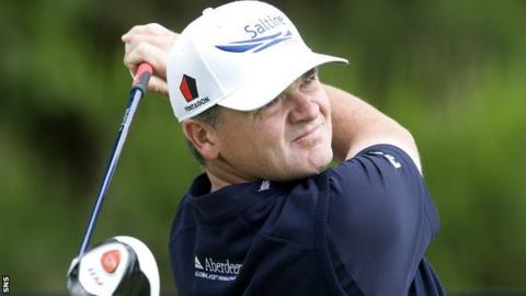 Paul Lawrie leads after the third round at Gleneagles